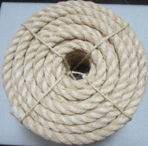 Manila Rope Natural Twisted Sisal Rope for Sale pictures & photos