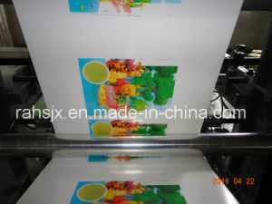 30′′ Four Colors Plastic Bag Film Flexographic Printing Machine pictures & photos