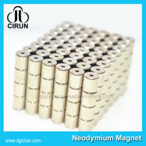 Super Strong Sintered Cylinder NdFeB Magnet pictures & photos