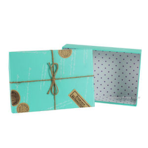 Very Nice Fancy Design Shoes Packaging Boxes with Rope pictures & photos