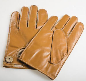 Men′s Fashion Outside Sewing Sheepskin Leather Driving Gloves (YKY5202-1) pictures & photos