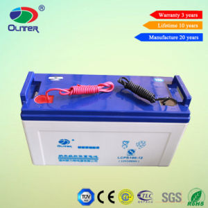 Good Price 12V 100ah Lead Acid AGM Battery From China pictures & photos