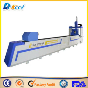 Tube Fiber CNC Cutter 750W Ss/Ms/CS Metal Steel Laser Machine pictures & photos