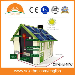 (HM-4KWpoly-2) 4kw off Grid Solar System with Poly Solar Panel pictures & photos