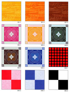 0.5mm PVC Non-Woven Flooring pictures & photos