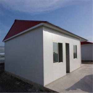 Steel Structure Sandwich Panel Prefabricated House pictures & photos