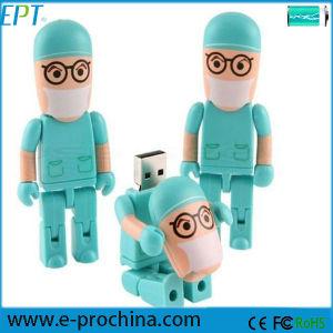 Customized Logo Pen Memory Stick Robot USB Flash Disk (ET079) pictures & photos