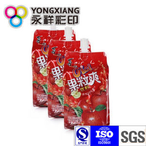 Snack Food Packaging Stand up Spout Bag pictures & photos