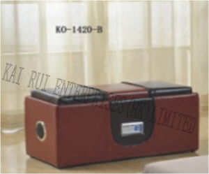 Music Storage Multifunctional Modern PVC Leather Ottoman with Blue Tooth pictures & photos