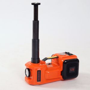 Portable 12 Volt Electric Floor Lift Sedan Jack with Inflating Pump pictures & photos