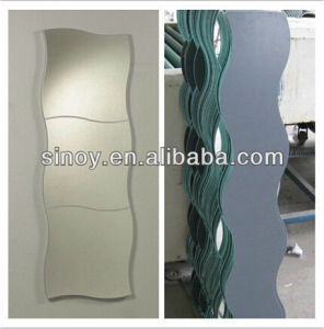 China Sinoy Clear Aluminium Mirror Glass/Copper Free Mirror pictures & photos