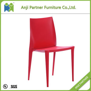 Simple Design Red Durable Plastic Chair for Dining Chair (Cynthia) pictures & photos