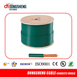 20AWG Bc 95%CCA Braiding Rg59 Siamese Coaxial Cable pictures & photos