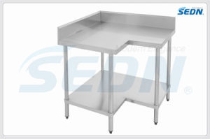 Handmade Stainless Steel Splashback Corner Benches (MT6001) pictures & photos