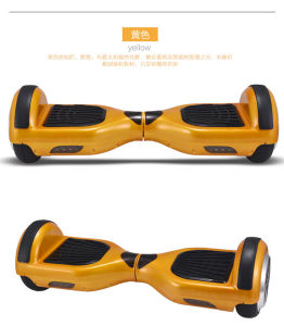Golden Color Self Balancing Smart Electric Mini Scooter pictures & photos