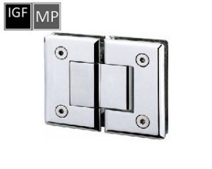 Brass or Stainless Steel Glass Shower Hinge (SH-102-180) pictures & photos