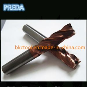 Tisin Coated 45 Helix Angle End Mill Cutters Tools pictures & photos
