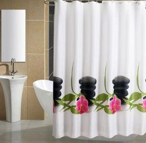 Nylon Shower Curtain, Nylon Bath Curtain, Nylon Bathroom Curtain, Nylon Curtain Fabric pictures & photos