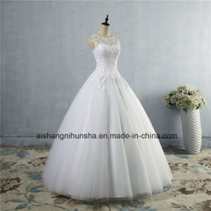 Customers Made Lace Formal Wedding Dress Wedding Dress in Lace pictures & photos