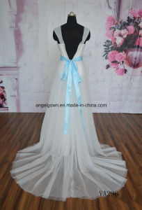 Guangzhou Floral Motif A-Line Bridal Wedding Gowns Lace pictures & photos