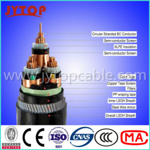 Medium Voltage Cable 15kv Cable 3X185mm Factory pictures & photos