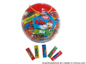Big Football Shape Bottle Long Bubble Gum pictures & photos
