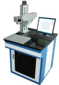 China Factory High Precision Fiber Laser Marking Machine pictures & photos