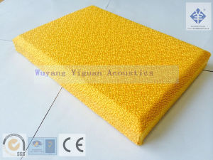 Gold Color Fabric Sound Absorbing Wall Panel (2.5FGB) pictures & photos