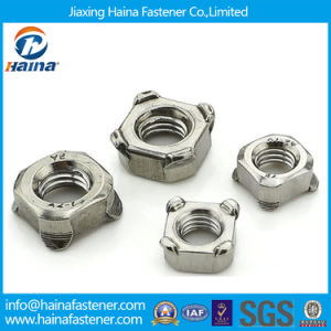 DIN928 High Quality Stainless Steel Square Weld Nuts (STOCK) pictures & photos