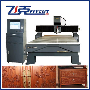 CNC Woodworking Machine with Vacuum Inhaling Working Table pictures & photos