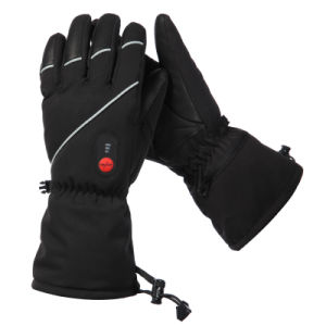 Rechargeable Lithium Battery Heated Gloves, Skiing Goves pictures & photos