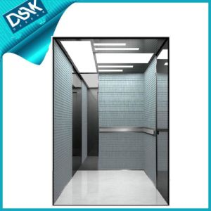 Passenger Elevator with Mirror Etched Stainless Steel pictures & photos