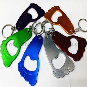 Blank Promotional Items, Aluminum Bottle Opener Keychain, Opener Keyring Die Casting Design pictures & photos