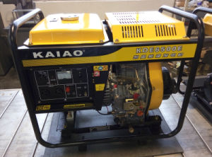 2-10kw AC Single Phase 5kw Open-Frame Diesel Generator pictures & photos