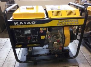 2-10kw AC Single Phase 5kw Open-Frame Diesel Generator
