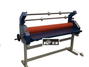 Electric Cold Laminator Rewinding Graphic Cold Roll Laminator (WD-HLD1300) pictures & photos