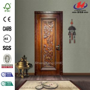 Craftsman Composite Luxury Interior Wooden Door pictures & photos