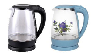 China Manufacturer Glass Kettle Glass Water Kettle