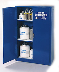 Westco Acids and Corrosives Safety Cabinets, As3780/Osha/Nfpa Standards Compliant
