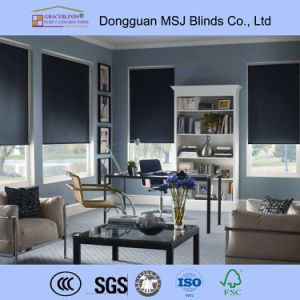 Sunscreen Fabric Motorized Roller Blinds pictures & photos