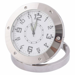 Mini Table Clock Camera Video Record Indoor Motion Detector Qt-C520A pictures & photos