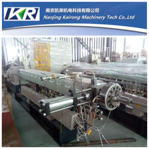 Tse-50 Color Masterbatch Plastic Recycling Production Line pictures & photos
