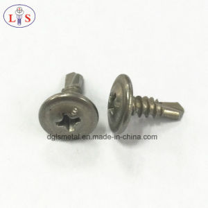 Stainless Steel Truss Head Cross Recess Self-Drilling Screw pictures & photos