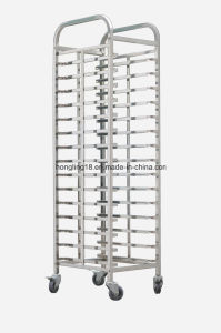 15-Pans Assembling Bread Trolley/Cake Trolley/Toast Trolley for Baking Oven pictures & photos
