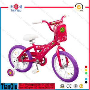 2016 Factory Price 12 Inch Hot Wheels Kids Bike for Baby Girls / Sport Cycles Girls Beach Cruiser Bike / Children 4 Wheel Bike pictures & photos