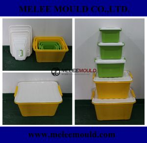 Plastik Tool for Container Box Mold in Moulding pictures & photos