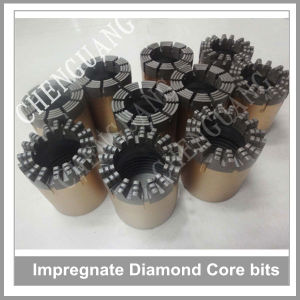 Drilling Rock Bit, Impregnated Diamond Bits, Impregnated Tube Core Bits pictures & photos