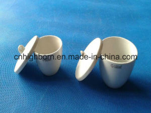Refractory Porcelain Ceramic Crucible for Laboratory pictures & photos