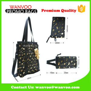 Fashion PU Accessories Mommy Tote Baby Diaper Bags pictures & photos