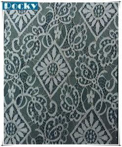 Fashion Elastic Spandex Jacquard Lace Fabric